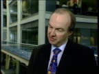 Parliament vote Gray's Inn Road McGinty with Robert Meadowcroft Robert Meadowcroft interviewed SOT This is a long term degenerative condition there...