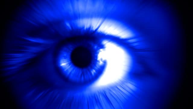 Human Eye (Blue)