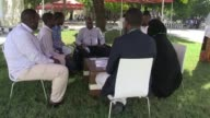 A human library opens in the Somali capital Mogadishu where participants or readers can speak to and gain insight from human volunteers on different...