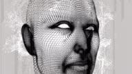 Männliche menschliche Gehirn-scan