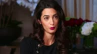 Human rights lawyer Amal Clooney speaks out about Yazidi genocide USA New York Amal Clooney interview SOT One of the positive signs is Prime Minister...