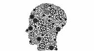 Human think gear machine loop