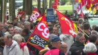 Hundreds of activists turned out in the streets of Nantes this Thursday to protest against France's planned labour reforms