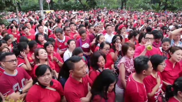 "Hundreds of Basuki Tjahaja Purnama known as Ahok Supporters held demonstrations in front of Jakarta Government office known as ""Balai Kota"" At the..."