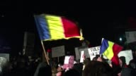 Hundreds of demonstrators gathered in Romania on Monday for the fifth day in a row calling on President Traian Basescu to step down after weekend...