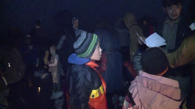 Hundreds of migrants on their way to Europe through the Balkans arrive by bus to Berkasovo on the Serbo Croatian border where increased cooperation...