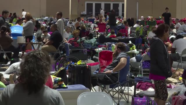 Hundreds of people find shelter in the state of Florida as Governor Rick Scott warns that all of the state's 20 million inhabitants should be...