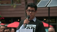 WGN Hundreds of protesters gathered in Chicago's Federal Plaza on Sept 5 2017 to condemn the Trump administration for ending Deferred Action for...