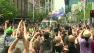 Hundreds of thousands of jubilant New Zealanders packed central Auckland for the All Blacks victory parade Monday celebrating their 'ultimate...