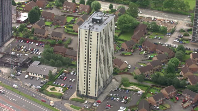 Hundreds of tower blocks across England have been found to have fire safety flaws including broken fire doors and holes Fire risk assessments at 436...