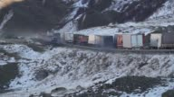 Hundreds of trucks came to a standstill on the Georgian Russian border on Thursday as Russia stepped up controls of Turkish imports passing through...