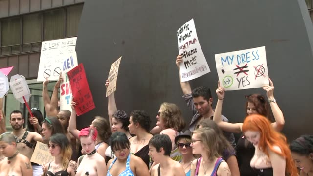 Hundreds of women participated in the Chicago 'Slut Walk' Organizers say that t is an outlet for rape victims who are often shunned and silenced...
