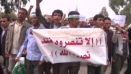 Hundreds of Yemeni students demonstrated Monday calling for the expulsion of the American ambassador and condemning the arrival of an extra 50 US...