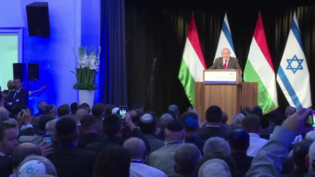 Hungarian Prime Minister Viktor Orban reaffirms his commitment to stamping out intolerance and anti Semitism on the second of a three day visit by...