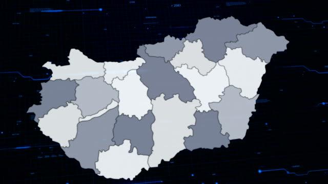 Hungary network map