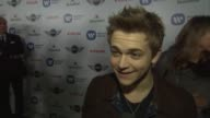 INTERVIEW Hunter Hayes on being here at Warner Music Group GRAMMY Celebration Presented By Mini on 2/10/13 in Los Angeles CA