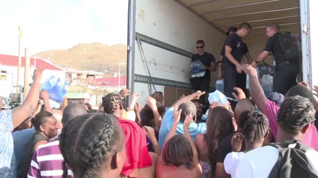 Hurricane hit Saint Martin is facing a general lack of information and supplies but for those stranded on the French island drinking water is the...