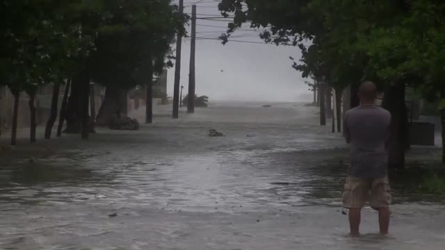 Hurricane Irma pummels the north coast of Cuba inflicting major damage as millions of people in the US state of Florida hunker down for a direct hit...