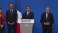 Hurricane Irma will exact a heavy cruel toll on two French Caribbean islands President Emmanuel Macron says after a crisis meeting with key ministers...