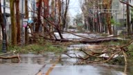 Hurricane Maria caused devastation across Puerto Rico Wednesday as 150 mile an hour winds from the island's worst storm in living memory flooded the...