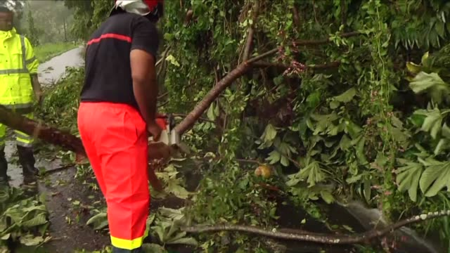 Hurricane Maria smashes into the eastern Caribbean causing damage to territories still reeling from Hurricane Irma although residents in Martinique...