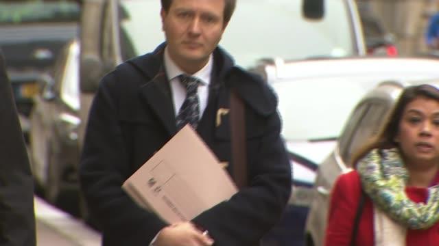 Husband of Nazanin ZaghariRatcliffe meets Boris Johnson ENGLAND London Whitehall EXT Richard Ratcliffe and Tulip Siddiq MP along with lawyer