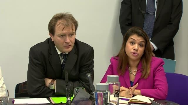 Husband of Nazanin ZaghariRatcliffe meets Boris Johnson ENGLAND London Westminster QEII Conference Centre Tulip Siddiq MP press conference as sat...