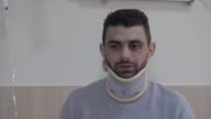 Huseyin Kurt receives his medical treatment at Fatih Sultan Mehmet Training and Research Hospital in Istanbul Turkey on March 23 2017 Kurt ne of the...