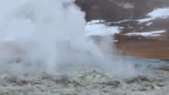 Hverir the geothermal area Lake Myvatn, Krafla  Iceland