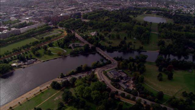 Hyde Park  - Aerial View - England, United Kingdom