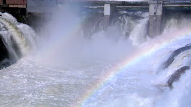 Hydro Power with Rainbow