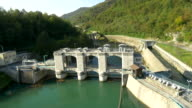 AERIAL Hydroelectric Power Station