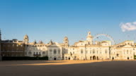 LONDON - CIRCA 2013: Hyper lapse, hyperlapse, time lapse of Horse Guards Parade in a sunny day