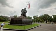 Hyperlapse around Iwo Jima Memorial