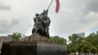 Hyperlapse around Iwo Jima Memorial zoom