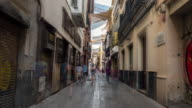 hyperlapse cuna street in sevilla Spain