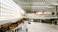 Hyperlapse Inside Airport Terminal