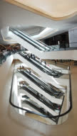 Hyperlapse of escalator (vertical)