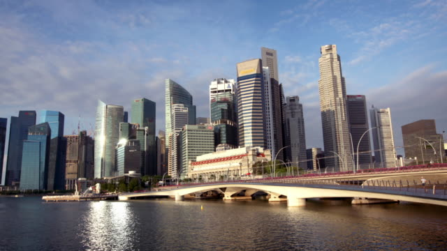 Hyperlapse van Singapore Skyline