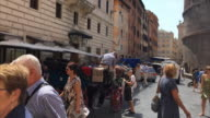 Hyperlapse of The Pantheon and nearby streets, Rome