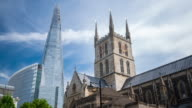 LONDON: Hyperlapse of The Shard and Southwark Cathedral