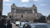 Hyperlapse of the Vittorio Emanuele II Monument, Roma