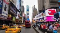 HyperLapse through Times Square traffic