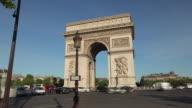 TL Hyperlapse towards Arc de Triomphe