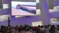 Hyperloop One startup intent on zipping people along at near supersonic speeds in pressurized tubes plans a demonstration Wednesday in the desert...