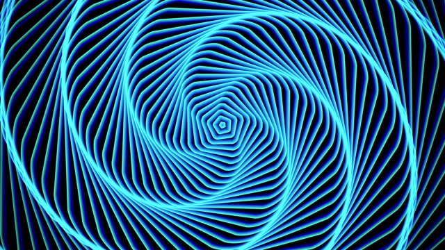 Hypnosis circle abstract background