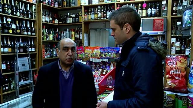 'Hypnotist thief' robs Highgate shop after putting shopkeeper in trance Aziz Haider interview SOT