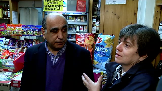 'Hypnotist thief' robs Highgate shop after putting shopkeeper in trance Paula Haider interview SOT/ Reporter to camera