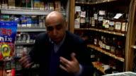 'Hypnotist thief' robs Highgate shop after putting shopkeeper in trance Aftab Haider interview SOT