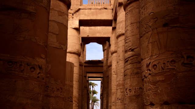 Säulenhalle-Tempel von Karnak, Luxor, Ägypten